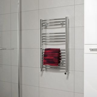 CURVED TOWEL WARMER CHROME 500MM X 1200MM