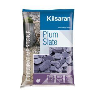 KILSARAN PLUM SLATE 30-50MM 25KG