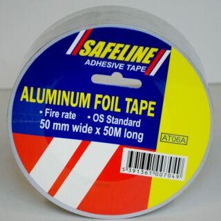 SAFELINE 50MM ALUMINUM FOIL TAPE 50M