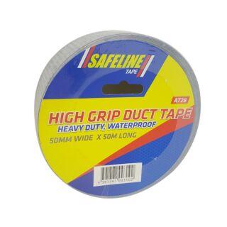 SAFELINE 50MM HIGH GRIP DUCT TAPE 50M