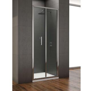 KRISTAL STYLE BIFOLD SHOWER DOOR 1000MM