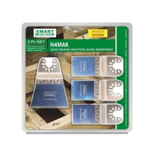 SMART 4PC TIMBER BLADE SET
