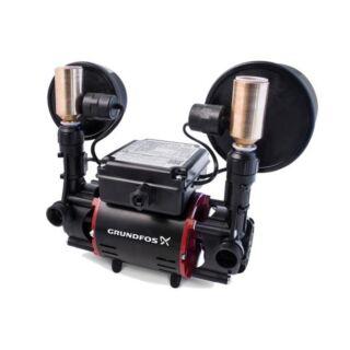 GRUNDFOS STR2-1.5 CN 1.5 BAR NEGATIVE TWIN - SHOWER PUMP