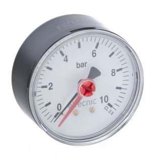 50MM M BACK ENTRY PRESSURE GAUGE 1/4 0-4 BAR