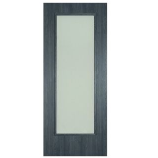 ERKADO SHAKER MIDNIGHT GREY OBSCURE GLASS 78X24