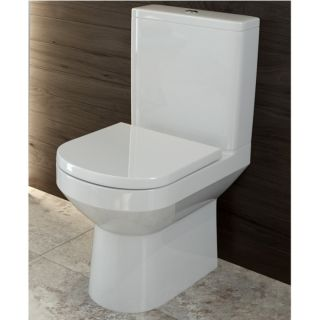 VIVA COMFORT HEIGHT CLOSE COUPLED WC - SOFT CLOSE SEAT