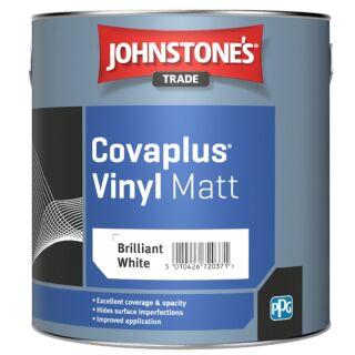 JOHNSTONES TRADE COVAPLUS VINYL MATT BRILLIANT WHITE - 2.5LTR