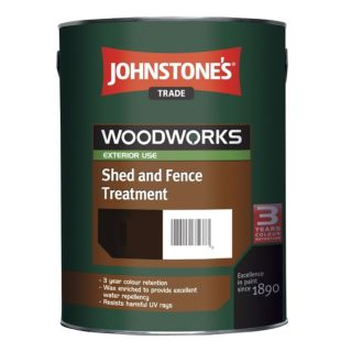WOODWORKS SHED AND FENCE LIGHT BROWN - 5LTR