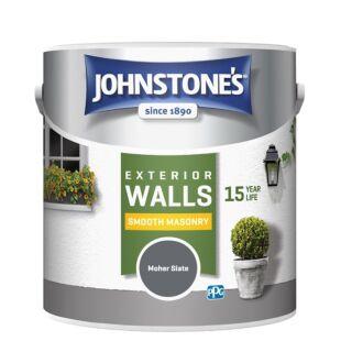 JOHNSTONES RETAIL SMOOTH MASONRY MOHER SLATE - 2.5LTR