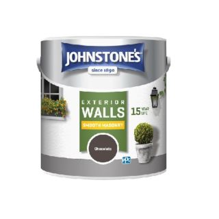 JOHNSTONES RETAIL SMOOTH MASONRY SMOOTH CHOCOLATE - 2.5LTR