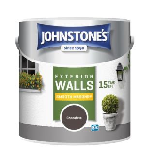JOHNSTONES RETAIL SMOOTH MASONRY SMOOTH CHOCOLATE - 5LTR