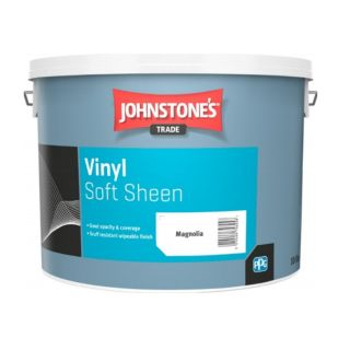 JOHNSTONE'S TRADE VINYL SOFT SHEEN MAGNOLIA - 10 LTR