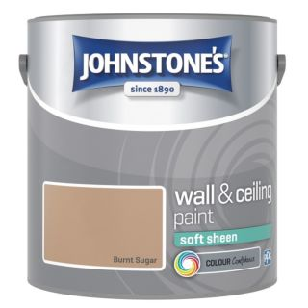 JOHNSTONES RETAIL VINYL SOFT SHEEN BURNT SUGAR 2.5L