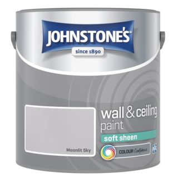 JOHNSTONES RETAIL VINYL SOFT SHEEN MOONLIT SKY 2.5L