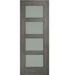 DORAS DAIKEN SHAKER 4 PANEL GREY OPAL LAMINATE GLASS 80x34