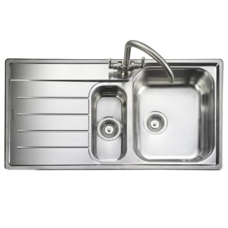 OAKLAND OL9852L - 985 X 508MM - 1.5 BOWL SINK WITH HANDED DRAINER