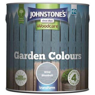 JOHNSTONES WOODCARE GARDEN COLOURS WILD BLUEBELL  2.5LTR