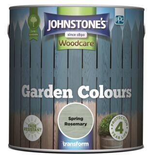 JOHNSTONES WOODCARE GARDEN COLOURS SPRING ROSEMARY 2.5LTR