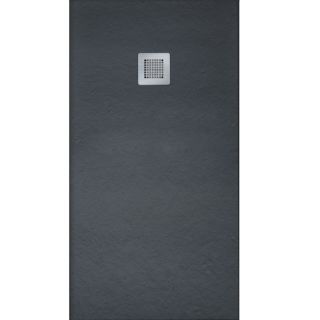 SLATE RECTANGULAR SHOWER TRAY 1700MMX800MM BLACK